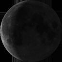 Убывающая луна, 3 четверть