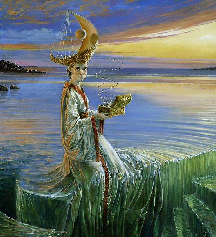Michael Cheval (Михаил Хохлачев) Lady of Hurricane