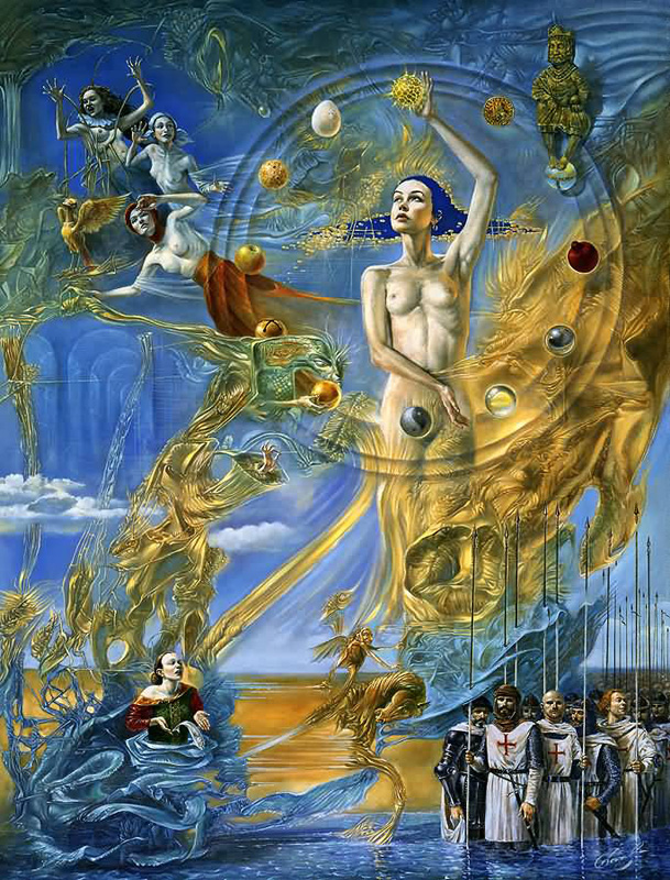 Michael Cheval (Михаил Хохлачев). Equilibrium at the Absolute Distinction II