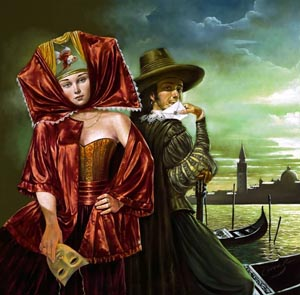 Michael Cheval Unrequited Letter