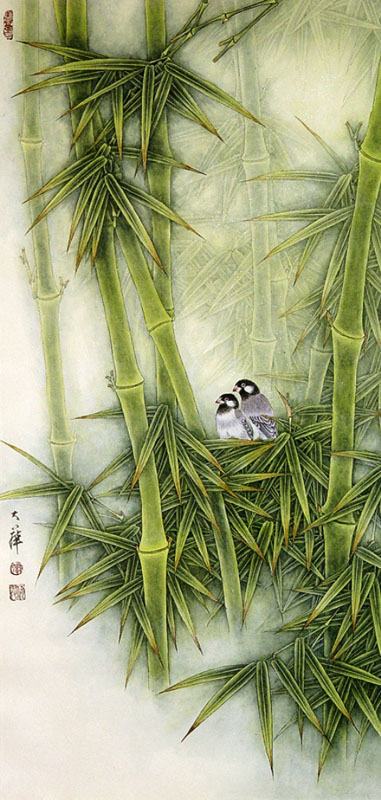 Chinese New Age. Flower Music. Музыка цветов. Bamboo In The Wind. Бамбук.