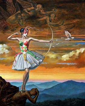 Michael Cheval Lady of the Instant